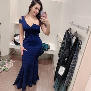 Betsy & Adam Dresses - One should A Line Gown